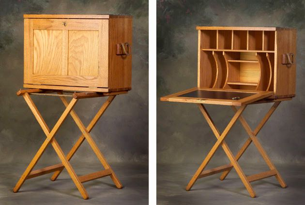 Logan Creek Designs » The 2nd Virginia Cavalry Company Desk