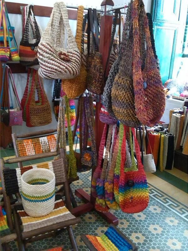 Artesanías de Fique en Curití Santander Colombia