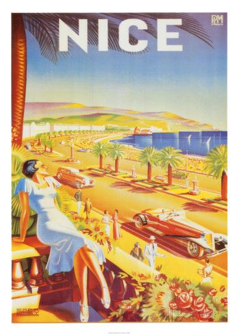 Nice Affiche par D`Hey sur AllPosters.fr