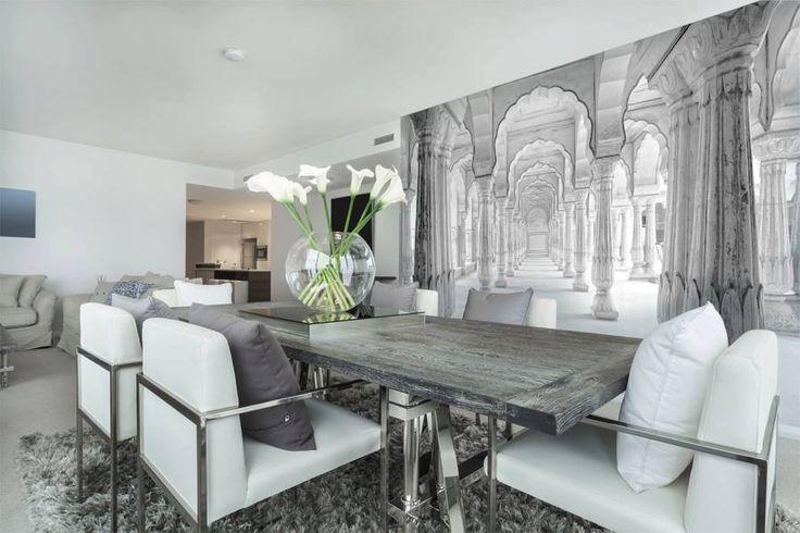 Dziś przedstawiamy propozycję, jak można optycznie powiększyć salon dzięki fototapecie. http://mural24.pl/konfiguracja-produktu/40639151/  #homedecor #fototapeta #obraz #aranżacjawnętrz #wystrójwnętrz, #decor #desing