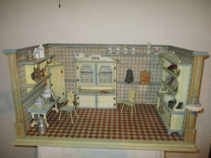 17 best images about antique german room boxes on pinterest, Badezimmer
