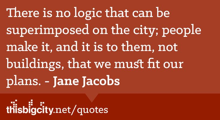 Quotes about Cities
