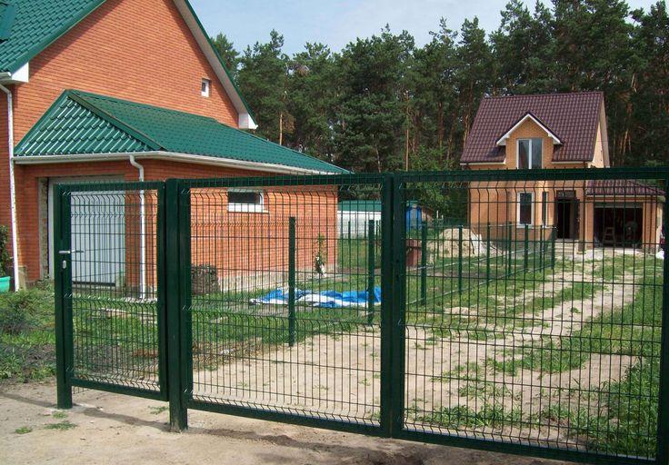 3D сетка забор для дачи