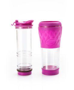 Cafeteira PRESSCA - Rosa - 350 ml