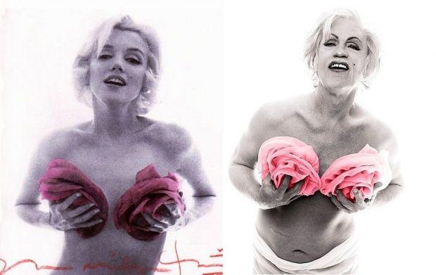 Bert Stern: Marilyn in Pink Roses