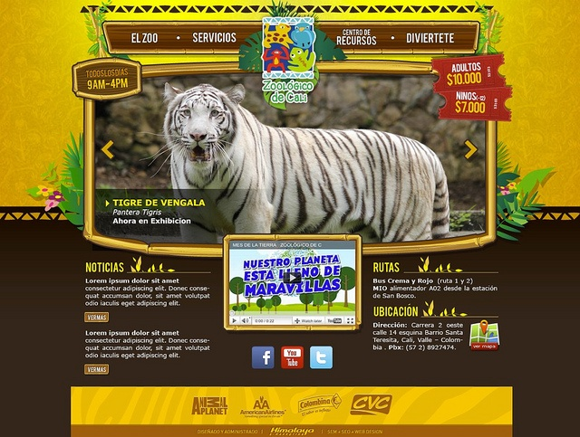 Cali Zoo for Himalaya by Gen Interactive, via Flickr