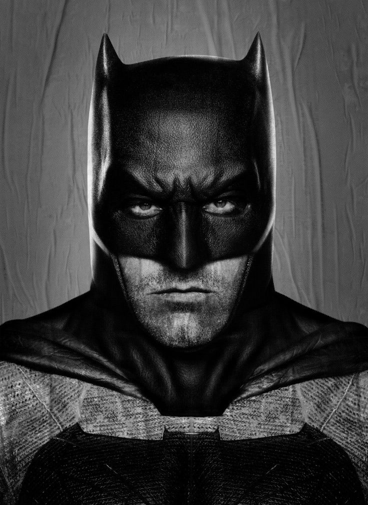 Ben Affleck Batman poster released without that awful Superman logo
