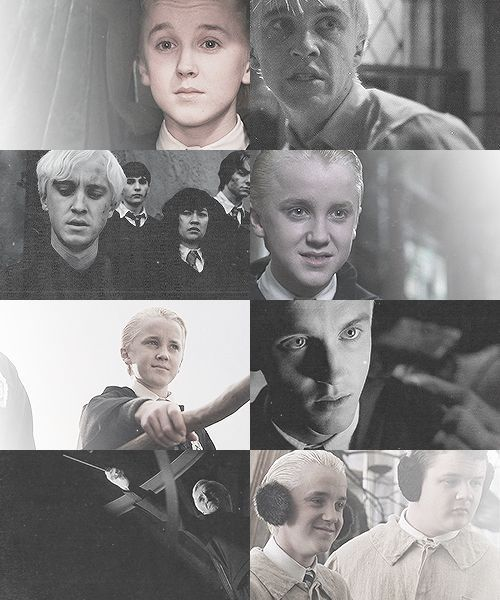 """Favourite Male Character And Why? Draco Malfoy because he's misunderstood and he had no choice in anything. He deserved the chance he didn't get."""