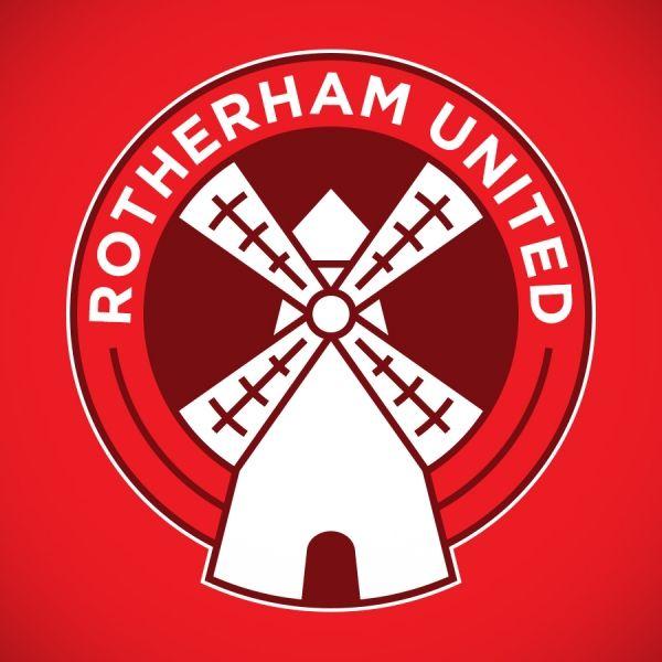 Rotherham United FC crest  #RePin by AT Social Media Marketing - Pinterest Marketing Specialists ATSocialMedia.co.uk