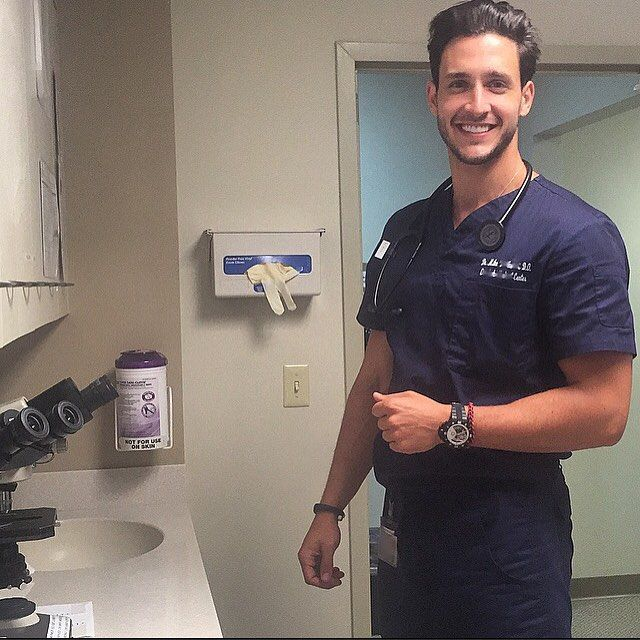 "Dr. Mike's ""Hot Doctor"" Instagram Proves That McDreamy Is McRealer Than You Thought <3 Nerd at heart"