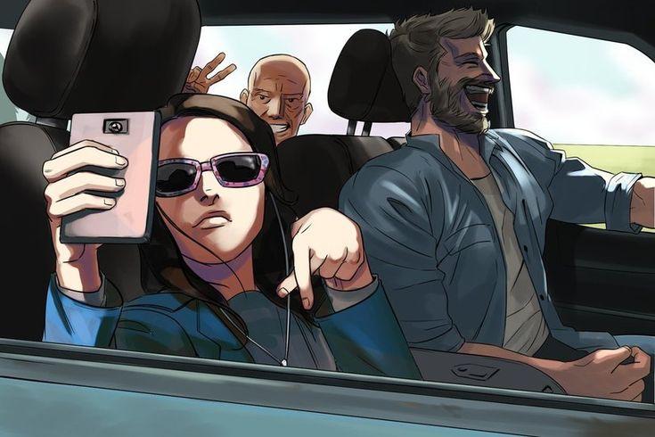 Logan,Логан,X-Men Movie Universe,Вселенная фильмов о Людях-Икс,Marvel,Вселенная Марвел,фэндомы,X-23,Икс-23, Росомаха, Лаура Кинни,X-Men,Люди-Икс,Wolverine,Росомаха, Логан, Джеймс Хоулетт,Professor X,Профессор Чарльз Ксавьер