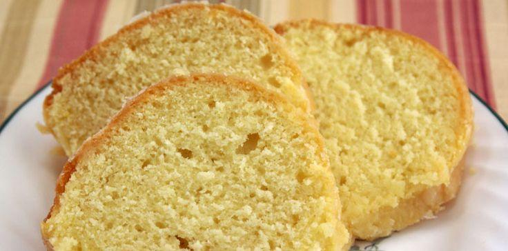 Le Cake au Citron : la Recette Facile et Vraiment Pas Chère.