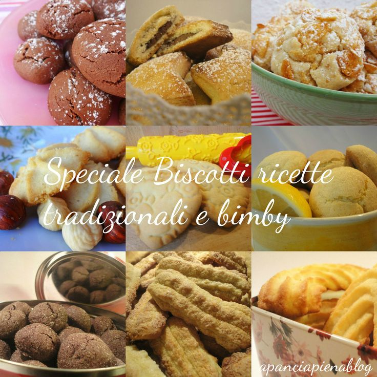 """Bentrovati amici, oggi """"biscottiamo"""", per voi una raccolta dei miei biscotti più buoni da realizzare durante le feste con chi più amate, siet"""