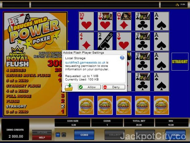 Play 103 #Video #Poker games for free >> jackpotcity.co/free-video-poker.aspx