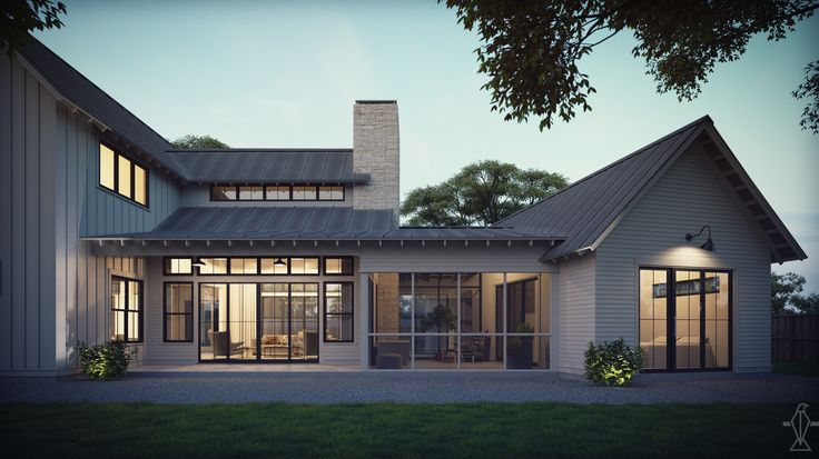 28 best premium modern farmhouse plans images on pinterest for Clerestory house designs