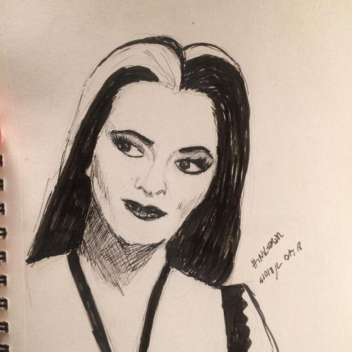 Day 12/30 Yvonne deCarlo as Lily Munster