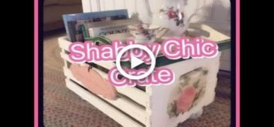 Wooden crate furniture shabby chic 32 Ideas  – Crate Paper Love
