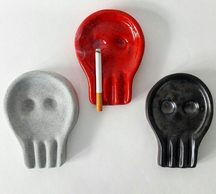 ceramic ashtray smoke-420