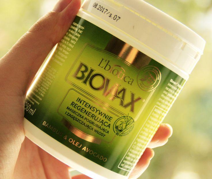 Zielona moc emolientów czyli o masce Biovax Bambus i Olej avocado | Jak dbać o długie włosy?