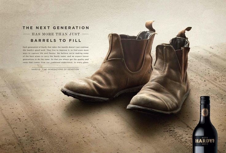 Hardys Wine: Boots | Ads of the World™
