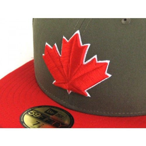 Toronto Blue Jays New Era 59Fifty Fitted Hats (OLIVE/RED)