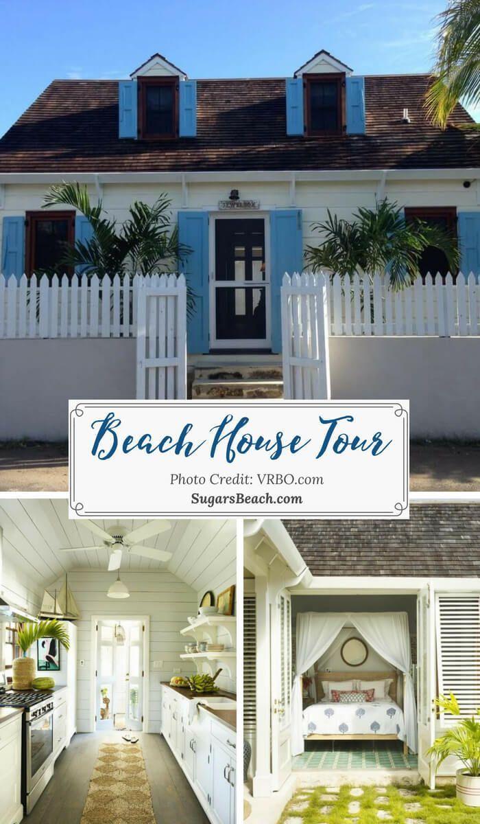 Dunmore Town Beach House Tour Awesome Beach Decorating Ideas Beach House Tour Beach Cottage Decor Beach House Interior Design