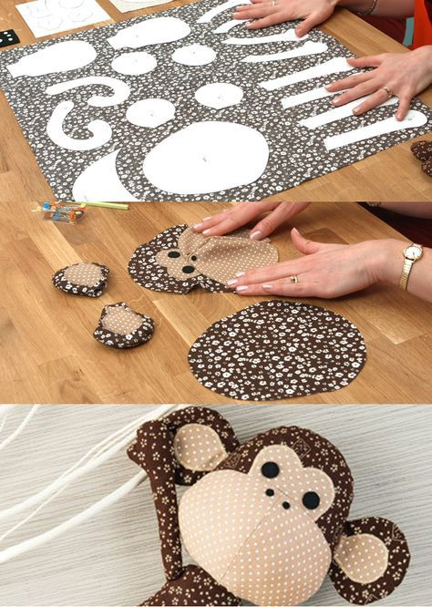 Follow along in this beginner-friendly sewing tutorial to make an adorably toy monkey. Easy to DIY and sure to be treasured forever!