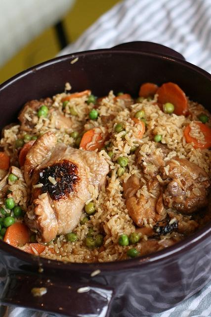 Pelau Chicken (Trinidad & Tobago)
