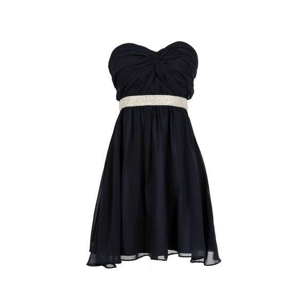 Lily Boutique., Women Cloths Online, Teen Clothing Or Apparel Chicago,... (100 CAD) ❤ liked on Polyvore featuring dresses, black dresses, cocktail prom dress, sparkly prom dresses, a line cocktail dress, sparkly bridesmaid dresses and empire waist cocktail dresses