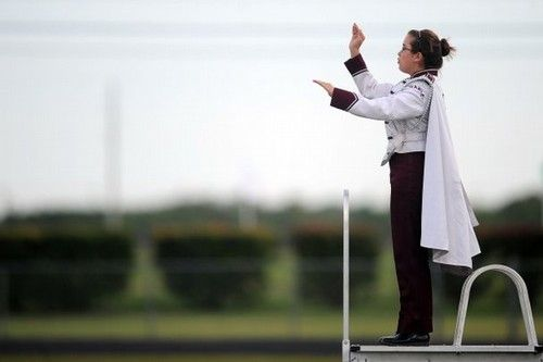 Best times was the year I was drum major