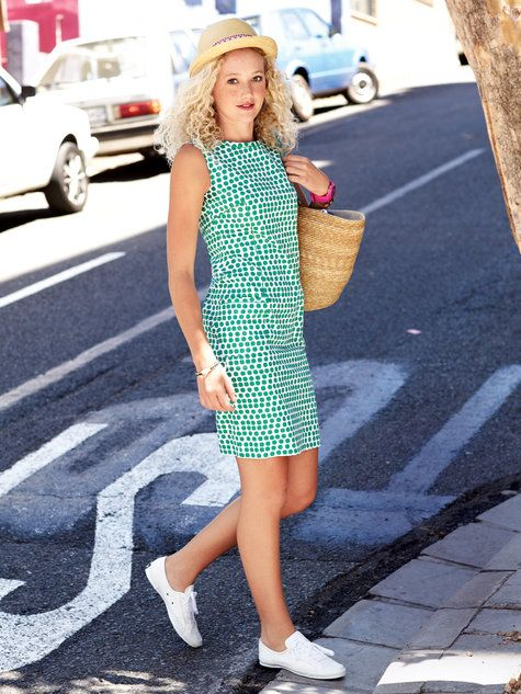 Shift Dress With Pockets 06/2013 #116