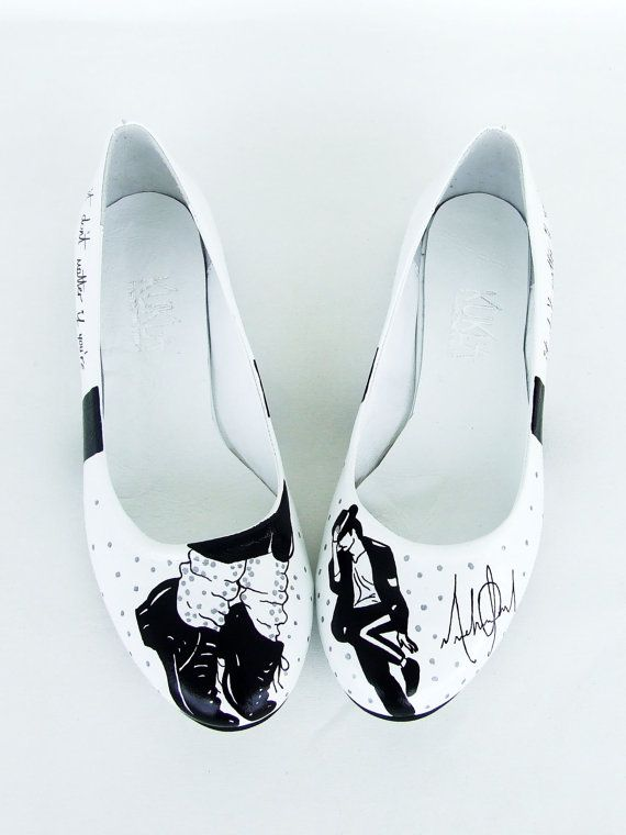 Hey, I found this really awesome Etsy listing at https://www.etsy.com/listing/107000108/michael-jackson-handpainted-shoes-flats