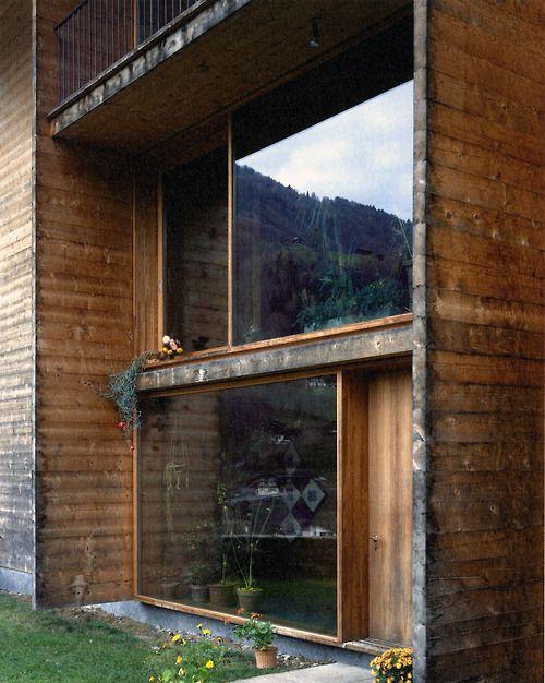 Peter Zumthor - Luzi house, Jenaz 2002