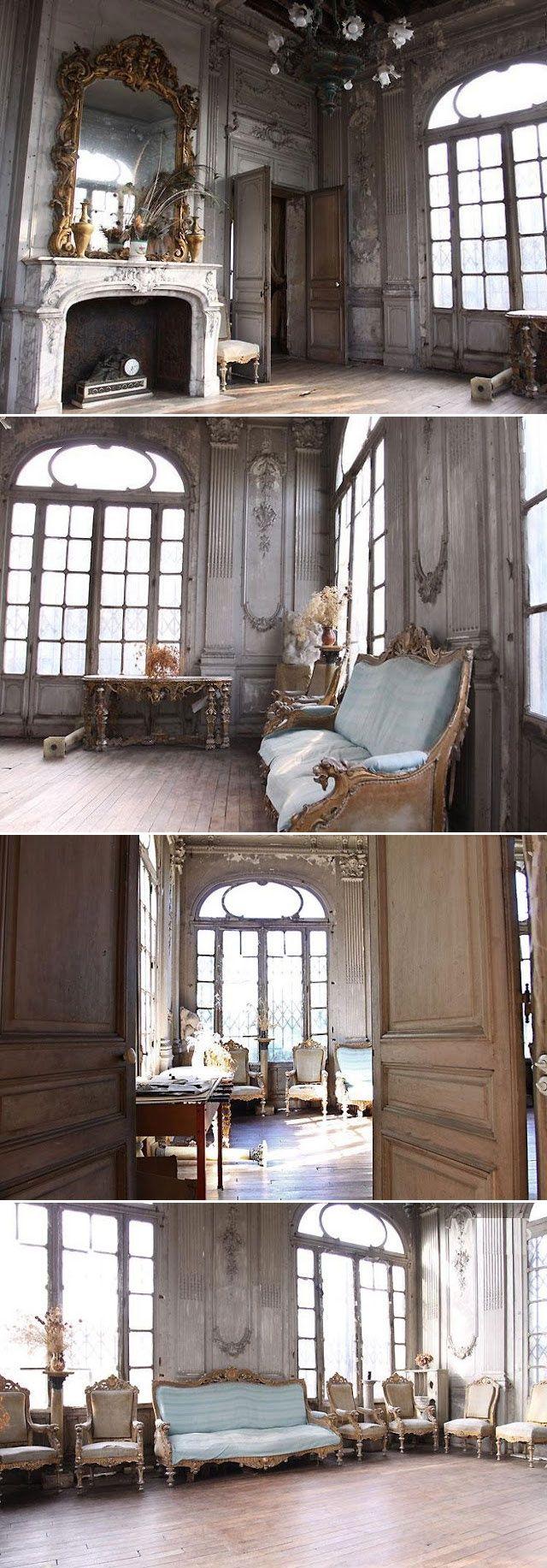 Gold and brass fixtures and faucets promising or passe apartment -  Pantina Ballroom Wedding 18th Century Patina Abandoned Ballroom