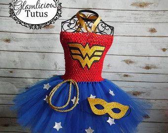 Superhéroe inspirado tutu Super héroe tutu por GlamliciousTutus