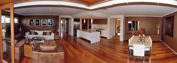 Medium Warm Honey Floor Boards Brown Paint Metric0n