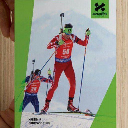 Good luck to @kresimircrnkovic on his race today on IBU World Championships. Go, go!! And enjoy the race! #biathlon #bonessports #croatia #croatiabiathlonteam #CRO #worldchampionship #hochfilzen #hochfilzen2017