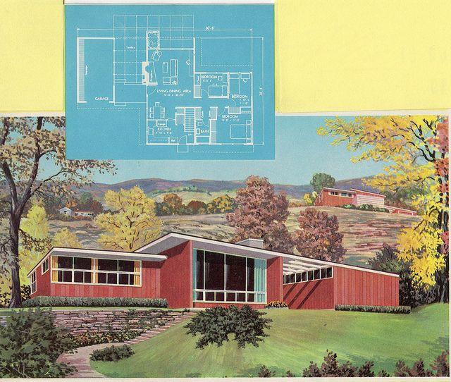 homes of the 60 and 70s | Homes and plans of the 1940's, 50's , 60's and 70's - a set on Flickr