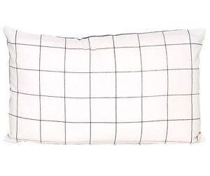 'grid' rectangle cushion via violet and percy. Click on the image to see more!