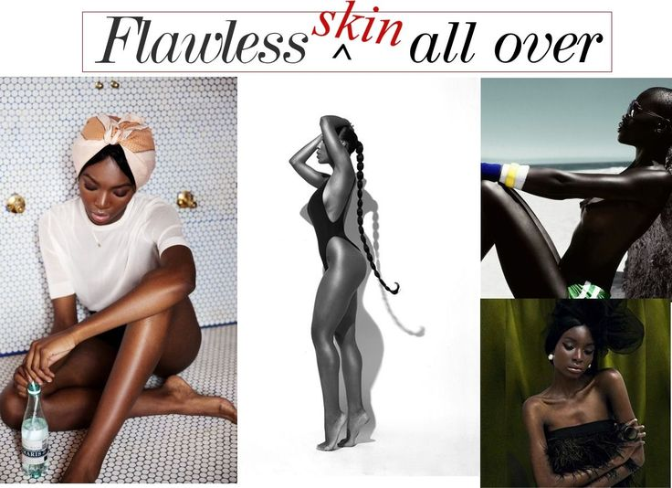 Relaxed Hair Health: Get Flawless, even toned skin all over your body using this technique.