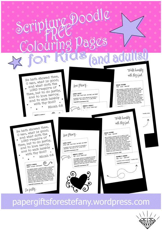 free micah 68 scripture doodle bible colouring page perfect for reflective bible journaling
