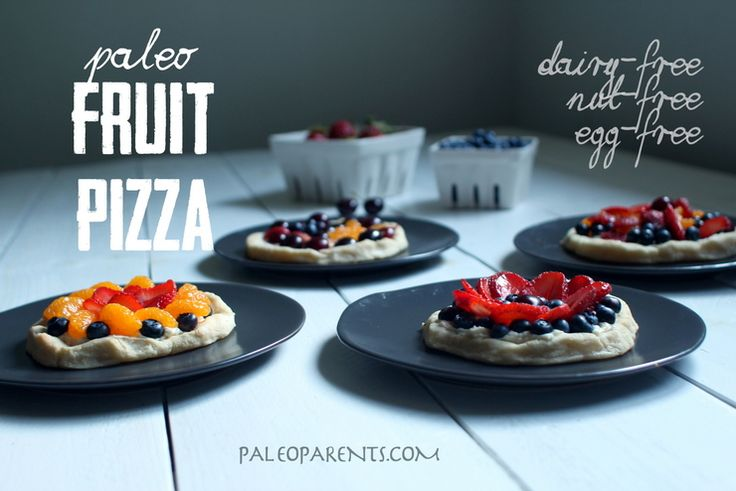 Paleo Fruit Pizza Even Better