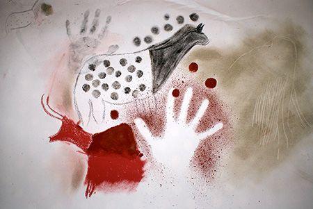 Préhistoire :Apprends à peindre comme les hommes préhistoriques