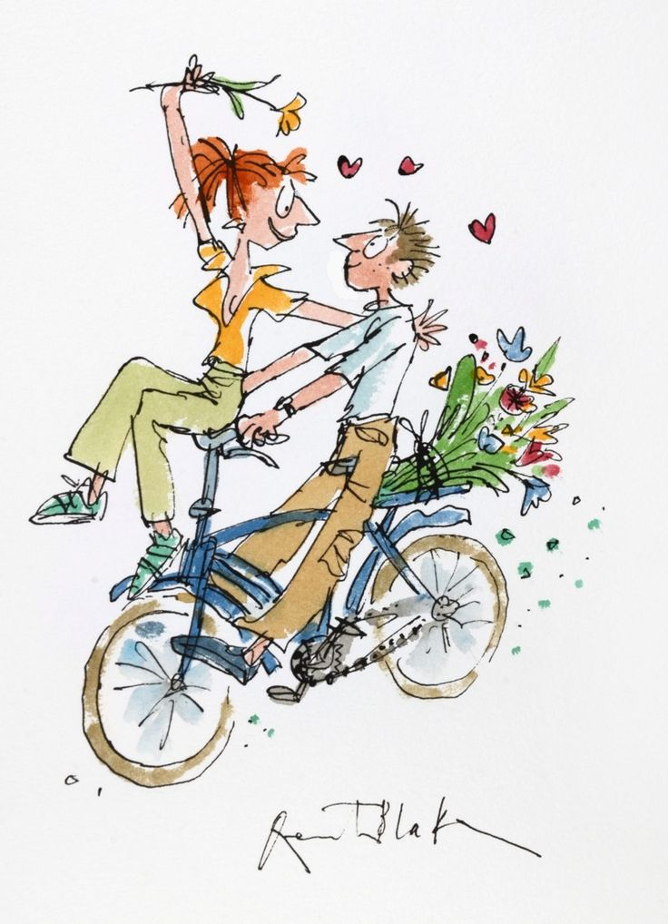 A Bycicle Made for Two by Quentin Blake