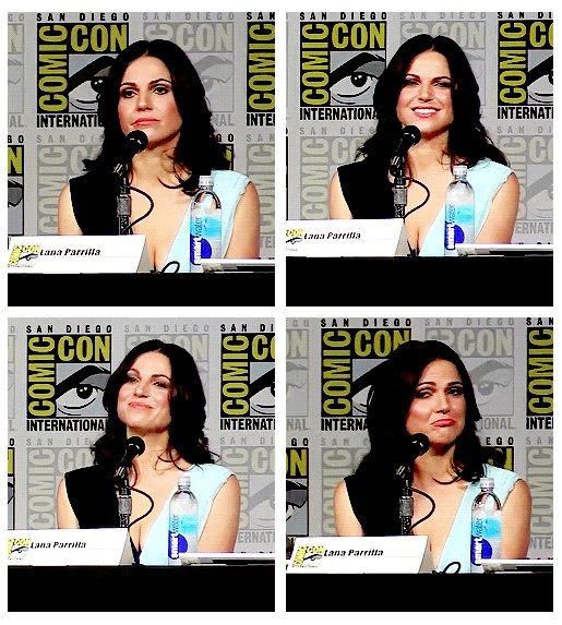 Lana Parrilla Being So Adorable #SDCC2015