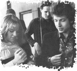 Bob Dylan and Dana Gillespie