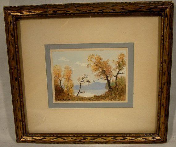 John Hubert Beynon Watercolor Painting Canadian 1890-1970