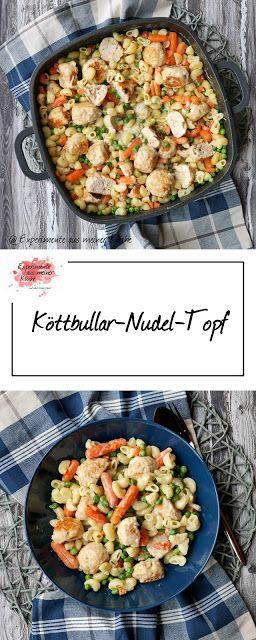 Köttbullar-Nudel-Topf | Rezept | Essen | Kochen | Weight Watchers