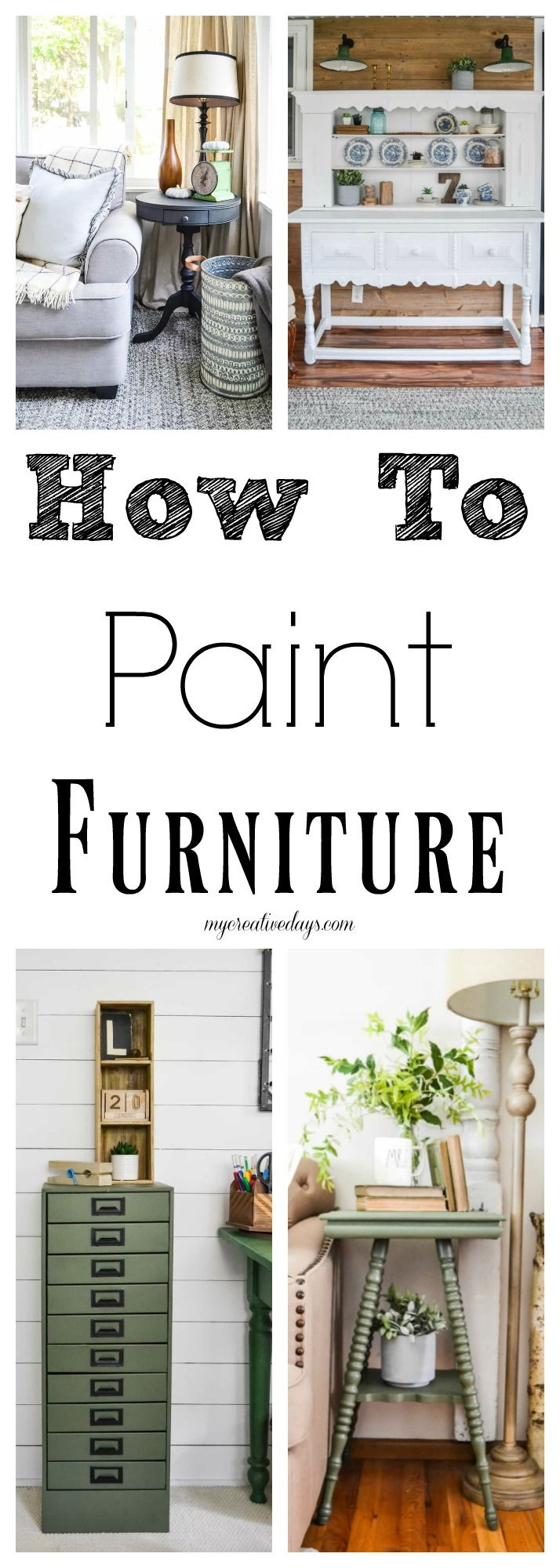 If you would like to start painting some furniture pieces, it is very important ...
