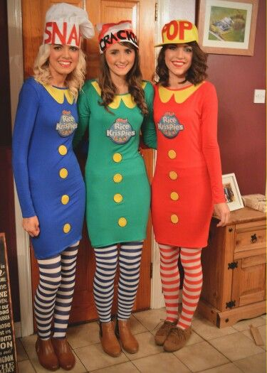 fancy dress #ricekrispies #snap #crackle #pop #homemade #three